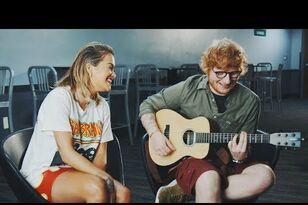 Rita Ora & Ed Sheeran Perform 'Your Song'
