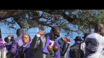 LBJ - 9 Times Social & Pleasure Club Second Line Sunday