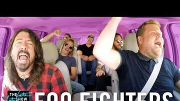 Big Brad - Foo Fighters Carpool Karaoke