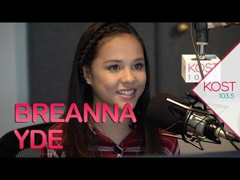 Breanna ydes acoustic version of all i want for christmas is you breanna yde fills big shoes voicing young mariah carey in new holiday movie thecheapjerseys Image collections