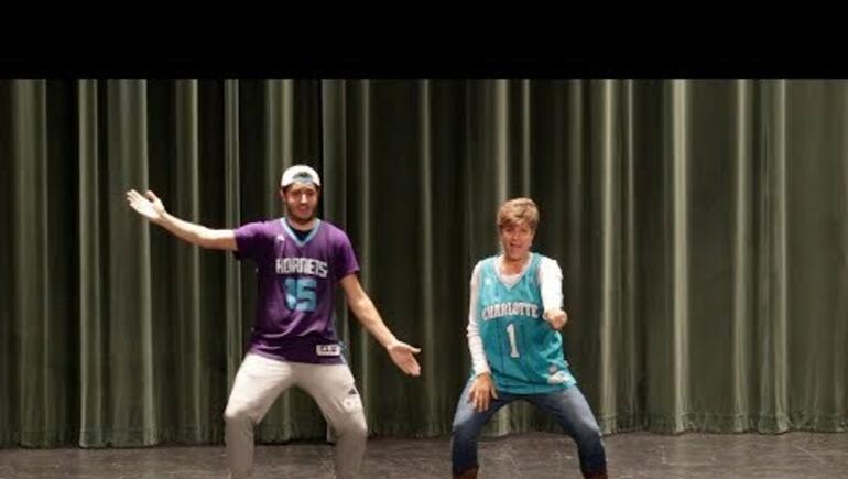 Epic Mom & Son Dance Routine