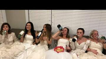 Ryan Gorman - Women Throw Divorce Party In Wedding Dresses