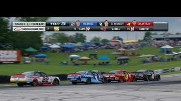 NASCAR - Jeremy Clements wins NASCAR XFINITY race at Road America