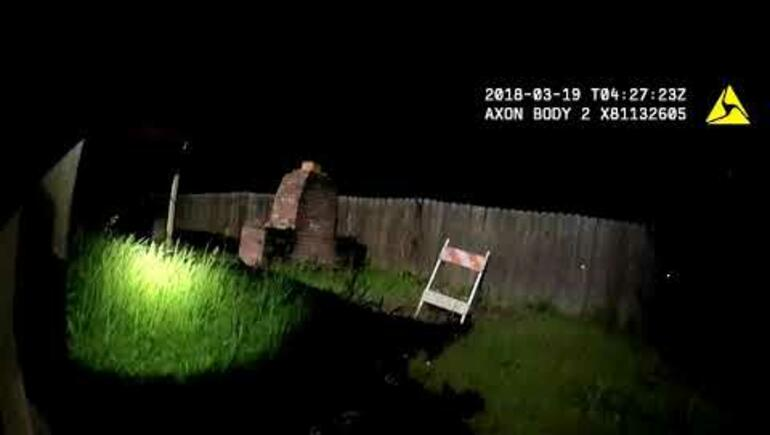 Body Cam Video Shows Police Shooting Unarmed Black Man In Backyard