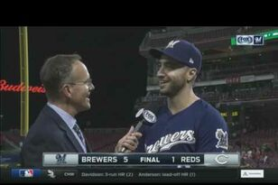 Ryan Braun says the pitching has been great in recent wins