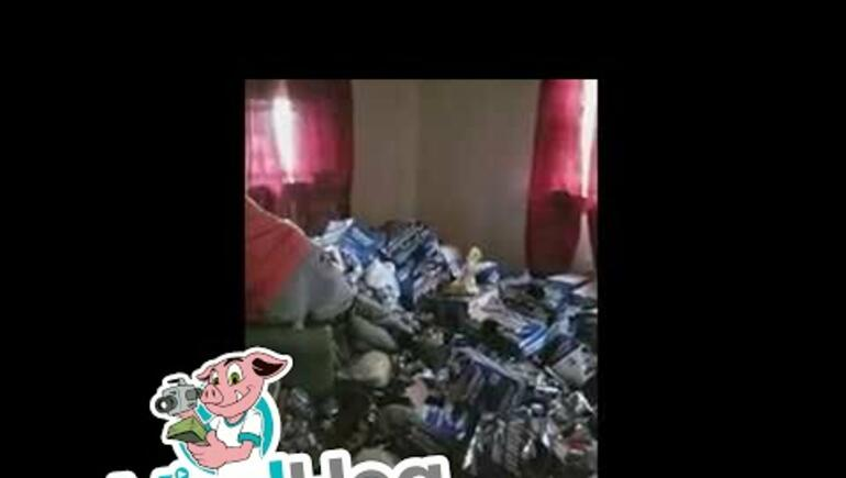 Property Owners Wade Through a Tenant's Wall-to-Wall Trash - YUCK!