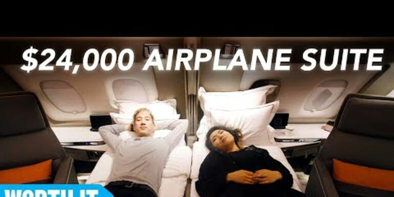 If You've Got $24k To Spend On A Flight...You Should Fly This Airline!