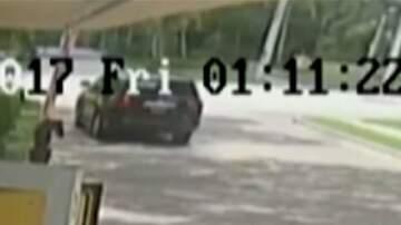 CRob - Video Shows Venus's  Car Being Struck