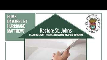 None - New Hurricane Matthew Housing Recovery Program Launching in January 2019