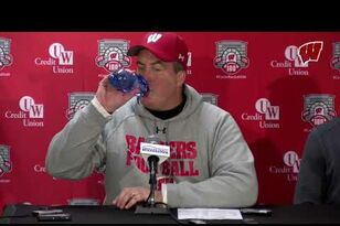 Paul Chryst Post-Game Press Conference: Michigan