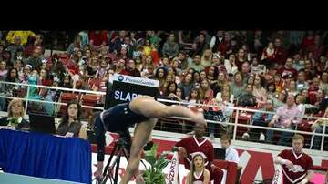East Alabama Local News - Auburn Gymnastics at Arkansas