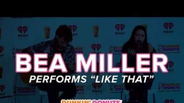 Dunkin' Donuts Iced Coffee Lounge - Bea Miller Blew Us Away with an Acoustic Performance of Like That