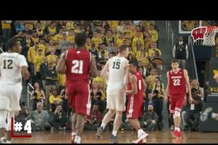 UW MBB: Highlights: Michigan 64, Wisconsin 58