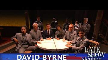 Mike Steele - David Byrne Performing on the Colbert Show