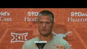 The Sports Buffet - Longhorns Defensive Coordinator Todd Orlando updates team's progress