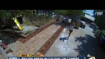 Ted Garcia  - City Heights Burglary Caught on Camera
