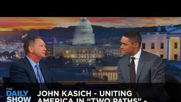Andy Clark - John Kasich on The Daily Show