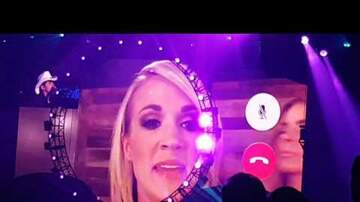 Tammy Daye - WATCH: Brad Paisley Unexpectedly Facetimes Carrie Underwood During Concer For Killer Remind me Duet