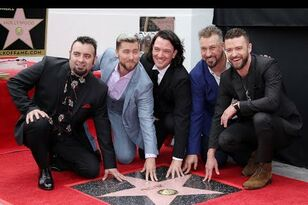 WATCH: NSYNC Reunites In Hollywood For Their Walk Of Fame Ceremony!
