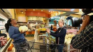 Cyndi - Ellen Takes Oprah Shopping LOL