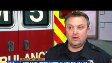 Nick Kuhn - Off-Duty Firefighter Saves Drowning Boy