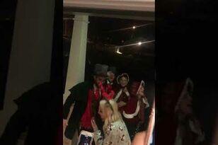 Thomas Rhett and Tyler Hubbard Go Christmas Caroling!