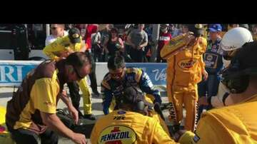 Tammy Daye - (Caught On Video) NASCAR FIGHT! Logano And Kyle Busch Stirred It Up