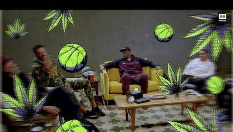 Golden State Warriors Pass Around Blunts while Discussing Smoking Weed!