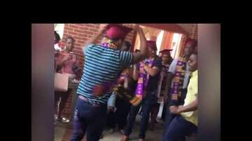 100.3 The Beat - Trending - Stepping College Graduate Surprises Girlfriend with a Ring