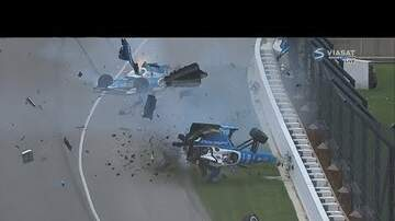 Andy Clark - INDY 500 CRASH- and everyone walked away!