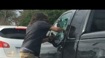 Ricky - Watch Man Punch Fist Through Truck Window And Pepper Spray Driver