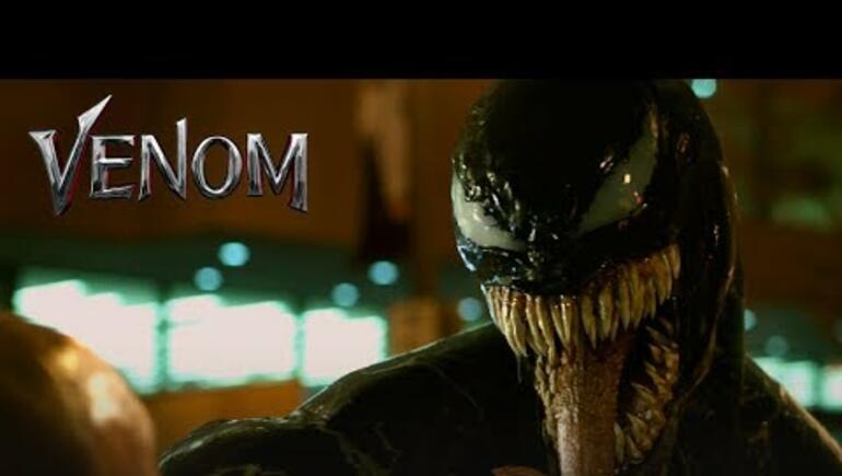Venom has an Official Trailer
