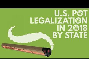More States To Vote On Marijuana Legalization In 2018