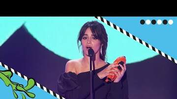 image for Camila Cabello WINS at Kids' Choice Awards 2018!