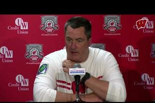 Wisconsin 33, Northwestern 24: Post-game Press Conference
