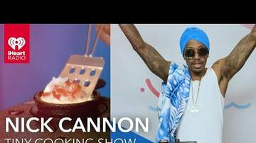 iHeartRadio Summer Pool Party - Watch Nick Cannon Cook Us A Tasty Breakfast In A Mini Kitchen (VIDEO)