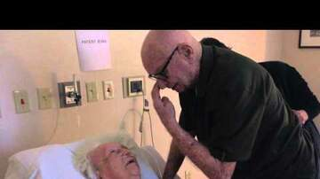 Mat Mitchell - 92-Year-Old Man Serenades His Dying Wife. Love and Respect Till The End!