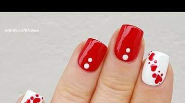 Kristy Knight - Really Easy Valentine's Day Nails!