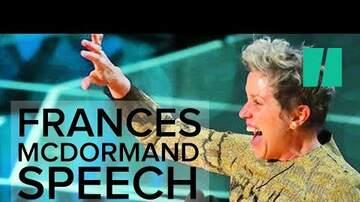 Helen Little - Frances McDormand's Moving Oscar Speech [WATCH]