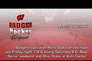 UW Hockey: Badger Hockey Digest 3/7/17