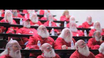 Gina - There's Actually a College for Mall Santa's!!