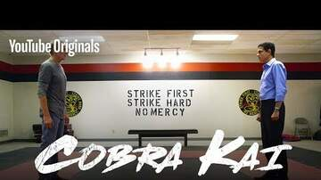 Brenna Rae - Official Cobra Kai Trailer - The Karate Kid saga continues