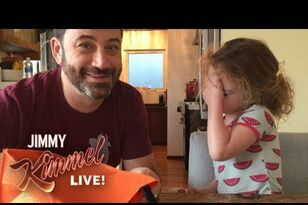 Jimmy Kimmel & Channing Tatum Ate All Their Daughter's Candy!