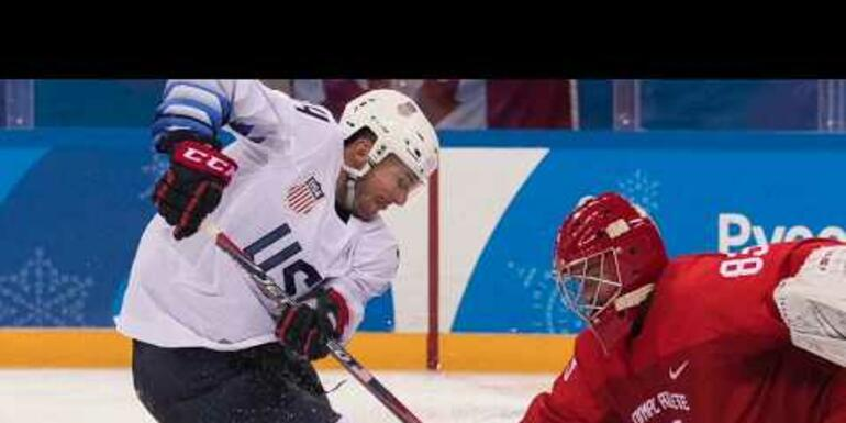 Team USA defeated by Olympic Athletes of Russia, 4-0