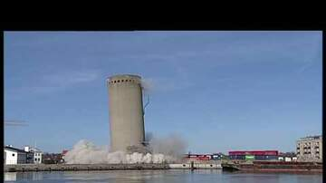 Catfish - Silo demolished and FALLS the WRONG WAY!!!
