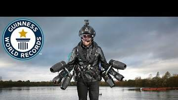 Big Brad - Man Breaks World Speed Record for Jet Powered Body Suit