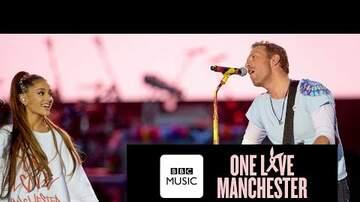 Jack Daniel - Ariana Grande & Chris Martin at Manchester Concert
