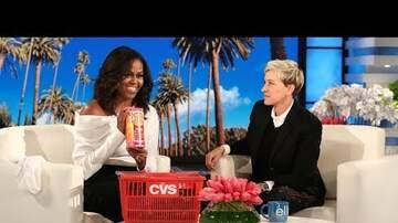 Tara J Blog (55459) - Michelle Obama sits down with Ellen for her Bday
