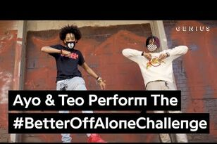 "Ayo & Teo ""Better Off Alone"" Hip Hop Dance Challenge"