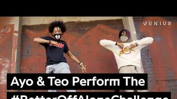 "Hip Hop Rap Music Dances - Ayo & Teo ""Better Off Alone"" Hip Hop Dance Challenge"
